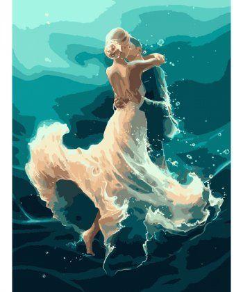 Картина по номерам На волне танца 40 х 50 см (KHO4566)  - Фото 1