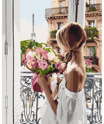 Картина по номерам Из Парижа с любовью 40 х 50 см (KHO4567)  - Фото 1