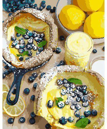 Картина по номерам Яркий завтрак 40 х 50 см (KHO5542)  - Фото 1