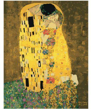 Картина по номерам Поцелуй Густава Климта 40 х 50 см (BK-GX21783)  - Фото 1