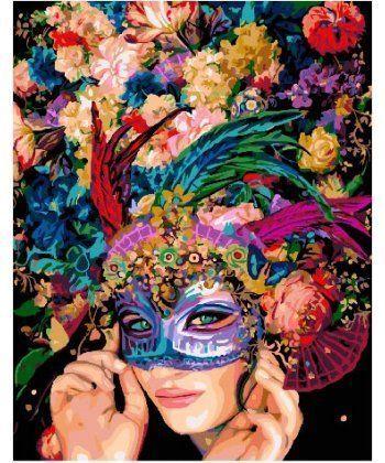 Картина по номерам Цветочный маскарад 40 х 50 см (BK-GX22922)  - Фото 1