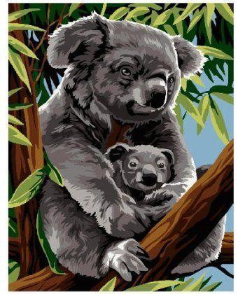 Картина по номерам Мама коала 40 х 50 см (BK-GX24169)  - Фото 1