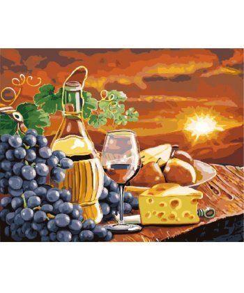 Картина по номерам Ужин на закате 40 х 50 см (BK-GX24251)  - Фото 1