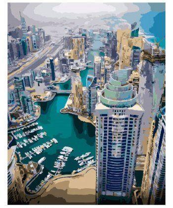 Картина по номерам Дубай 40 х 50 см (BK-GX24546)  - Фото 1