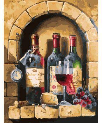 Картина по номерам Старинное вино 40 х 50 см (BK-GX24674)  - Фото 1