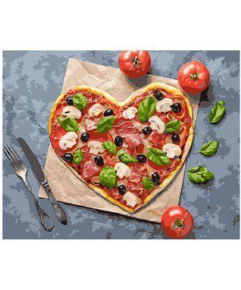 Картина по номерам Пицца с любовью 40 х 50 см (BK-GX25012)  - Фото 1