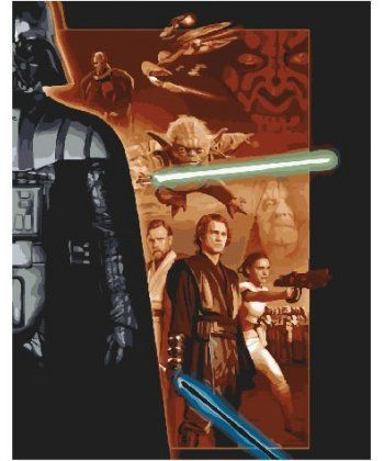 Картина по номерам Звёздные войны 2 40 х 50 см (BK-GX25119)  - Фото 1