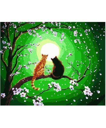 Картина по номерам Мартовские кошки 40 х 50 см (BK-GX25194)  - Фото 1