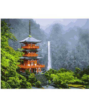 Картина по номерам Японская пагода 40 х 50 см (BK-GX25327)  - Фото 1