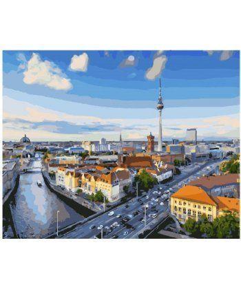 Картина по номерам Вид на Берлин 40 х 50 см (BK-GX25482)  - Фото 1