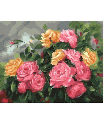 Картина по номерам Розовый куст 40 х 50 см (BK-GX25590)  - Фото 1