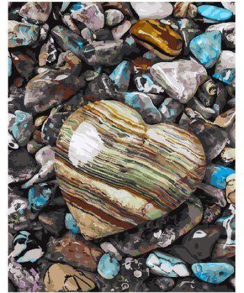 Картина по номерам Морские камни любви 40 х 50 см (BK-GX25850)  - Фото 1