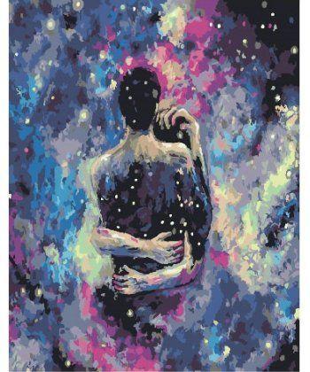 Картина по номерам Космическая любовь 40 х 50 см (BK-GX25853)  - Фото 1