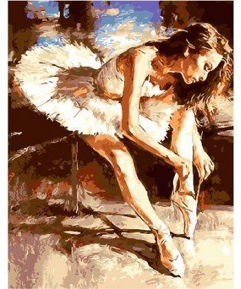 Картина по номерам Молодая балерина 40 х 50 см (BK-GX25866)  - Фото 1