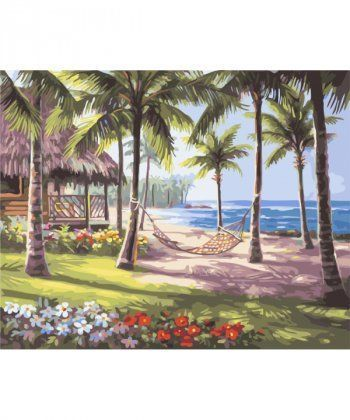 Картина по номерам Райское Бали 40 х 50 см (BK-GX4828)  - Фото 1