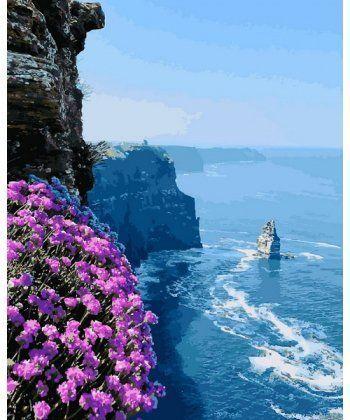 Картина по номерам Скалистый берег 40 х 50 см (MR-Q2187)  - Фото 1