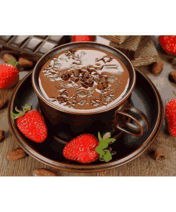 Картина по номерам Клубничный шоколад 40 х 50 см (MR-Q2190)  - Фото 1