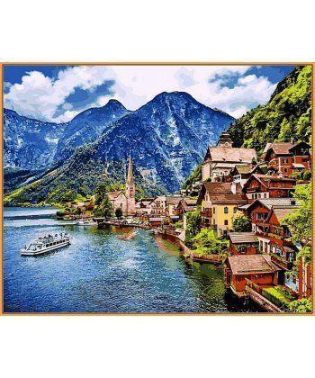 Картина по номерам Летняя Австрия (в раме) 40 х 50 см (NB1087R)  - Фото 1