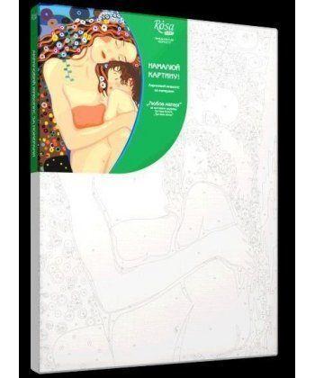 Картина по номерам Любовь матери (без коробки) 35 х 45 см (RS-N00013082)  - Фото 1