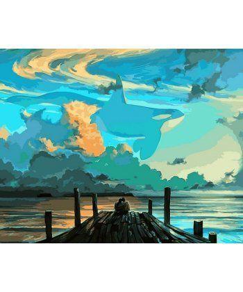 Картина по номерам Мечты на берегу океана 40 х 50 см (VP1080)  - Фото 1