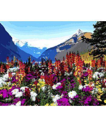 Картина по номерам Альпийские луга 40 х 50 см (VP1088)  - Фото 1