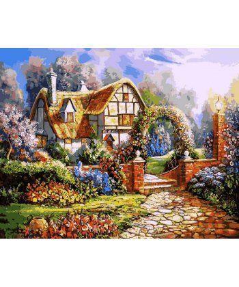 Картина по номерам Сказочный сад 40 х 50 см (VP1091)  - Фото 1