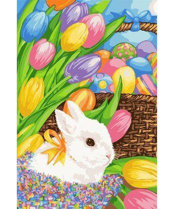 Картина по номерам Пасхальный кролик 35 х 50 см (KH4109)  - Фото 1
