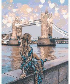 Картина по номерам Романтичный Лондон 40 х 50 см (KH4574)