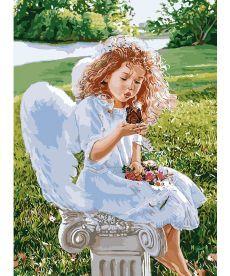 Картина по номерам Дыхание ангела 35 х 50 см (KHO2330)