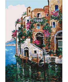 Картина по номерам Краски Тосканы 35 х 50 см (KHO2736)