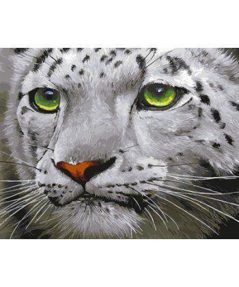 Картина по номерам Зеленоглазый барс 40 х 50 см (BK-GX23543)  - Фото 1