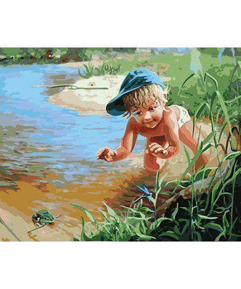 Картина по номерам Охота на лягушек 40 х 50 см (BRM24258)  - Фото 1