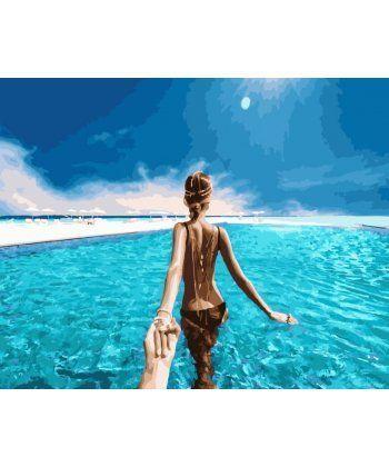 Картина по номерам Следуй за мной Карибские острова 40 х 50 см (BRM24451)  - Фото 1