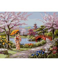 Картина по номерам Нарисованный рай 40 х 50 см (BRM4827)