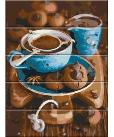Картина по номерам Вкус кофе 30 х 40 см (ASW026)