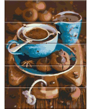 Картина по номерам Вкус кофе 30 х 40 см (ASW026)  - Фото 1