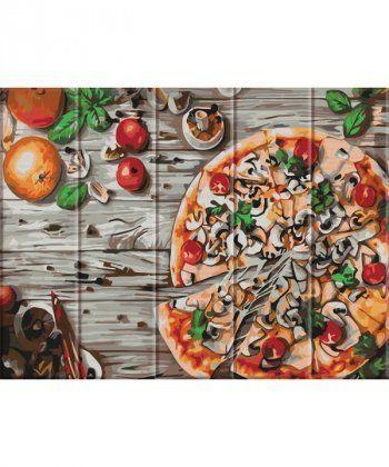 Картина по номерам Пицца 30 х 40 см (ASW029)  - Фото 1