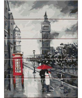 Картина по номерам Старый Лондон 30 х 40 см (ASW031)  - Фото 1