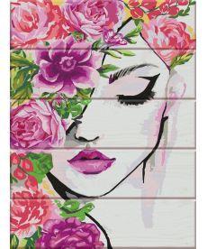 Картина по номерам Флора 30 х 40 см (ASW037)