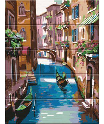 Картина по номерам Венеция 30 х 40 см (ASW040)  - Фото 1