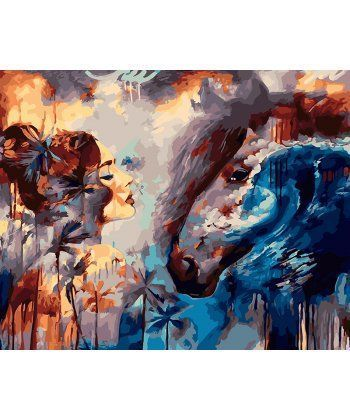 Картина по номерам Мир снов 40 х 50 см (BK-GX22122)  - Фото 1