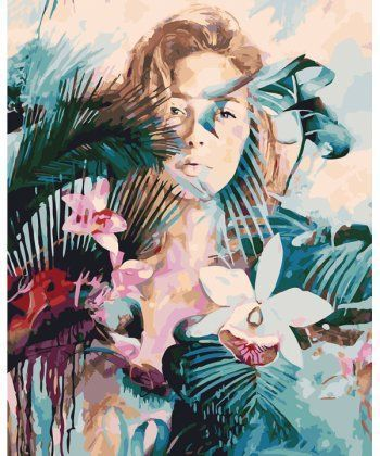 Картина по номерам Дикая орхидея 40 х 50 см (BK-GX25340)  - Фото 1