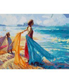 Картина по номерам На берегу океана 40 х 50 см (BK-GX27222)