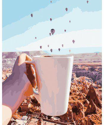 Картина по номерам Утро в Каппадокии 40 х 50 см (BK-GX27268)  - Фото 1