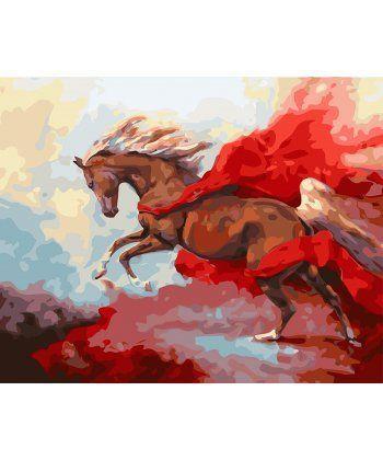 Картина по номерам Грациозная лошадь 40 х 50 см (BK-GX27437)  - Фото 1