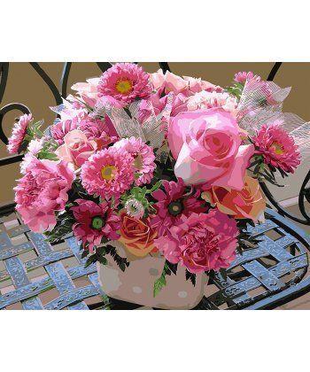 Картина по номерам Розовое асорти 40 х 50 см (BK-GX4095)  - Фото 1
