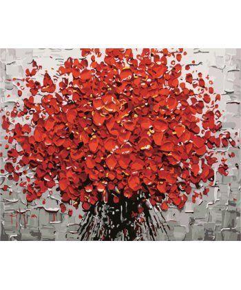 Картина по номерам Алый букет 40 х 50 см (BK-GX431)  - Фото 1