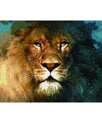 Картина по номерам Царь зверей 40 х 50 см (BK-GX5288)  - Фото 1