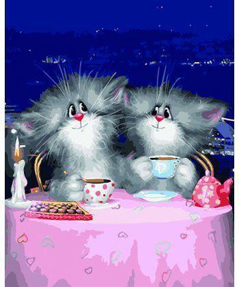 Картина по номерам Вечернее чаепитие 40 х 50 см (BK-GX5292)  - Фото 1