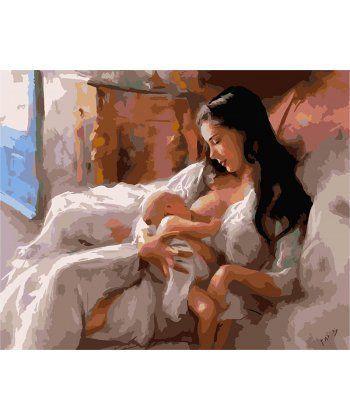 Картина по номерам Святость материнства 40 х 50 см (BK-GX6402)  - Фото 1
